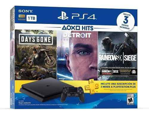 Playstation 4 Slim Ps4 1tb Bundle Hits 3 Juegos