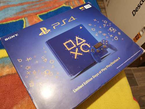 Remato Consola Ps4 Slim 1tb Edicion Days Of Play Azul Excele