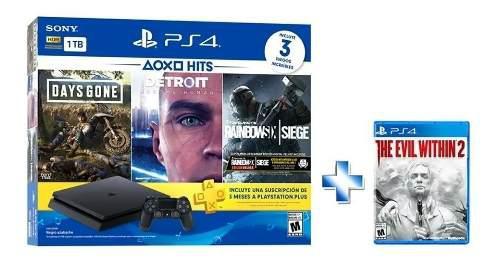 Sony Ps4 Slim Hits Bundle Playstation 4 Slim 1tb ($6999)