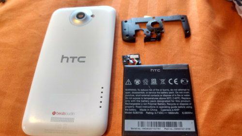 Tapa Y Bateria Para Htc One X