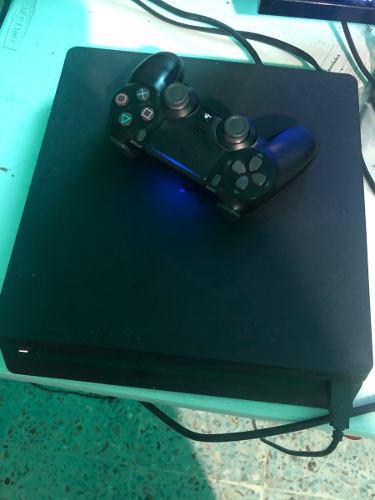 Vendo Consola Ps4 Slim 500gb, Control Y 3 Juegos Barata!