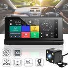 7'' Android Wifi Foldable Car Truck Dvr Dashboard Dash Cam