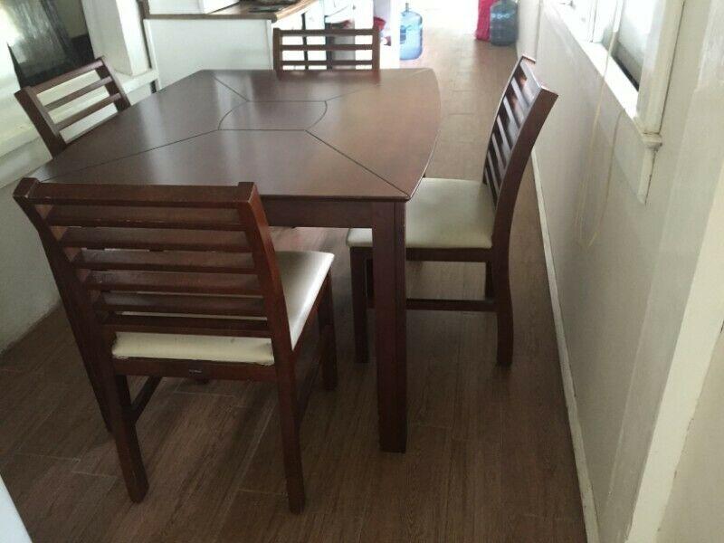Ante comedor 4 sillas