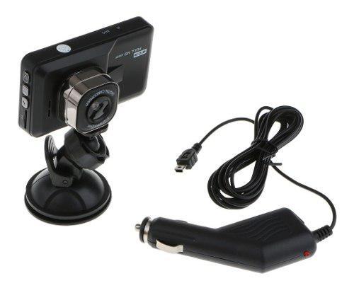 Cámara Del Coche Que Conduce El Registrador Dash Cam 1080p