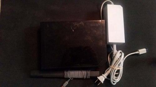 Consola Wii Negro No Retrocompatible Con Cable Ac Y Barra