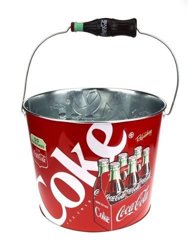 Cubeta Tipo Hielera Coca Cola