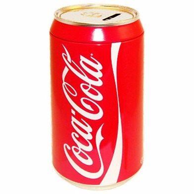 Lata Alcancia Coca Cola Metalica Original