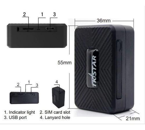 Localizador Gps Con Microfono Espia Pequeño Bateria 5 Dias