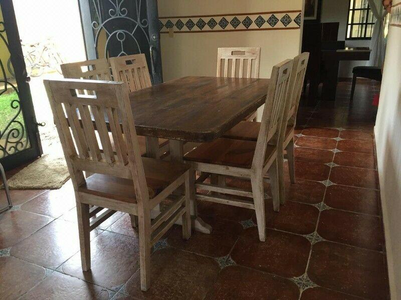 Mesa para 6 sillas