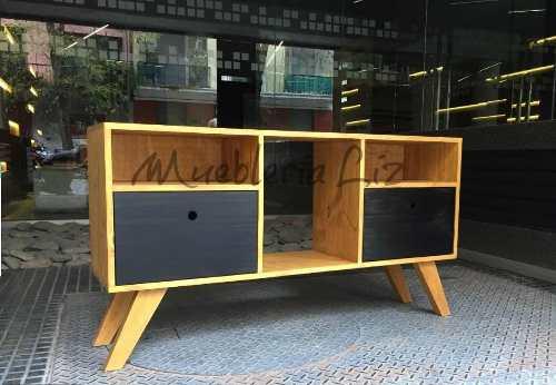 Mueble Rack Para Tv Centro De Entretenimiento Olmo Ngo