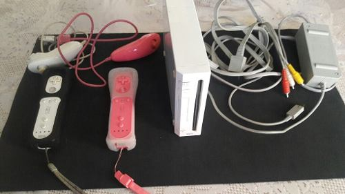 Nintendo Wii Con Dos Controles Completo!