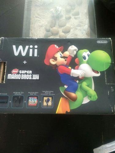 Nintendo Wii En Buen Estado Completo Y Con Juego De Mario B