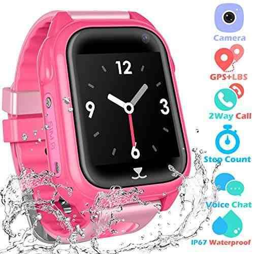 Niños A Prueba De Agua Reloj Inteligente Teléfono Niños N