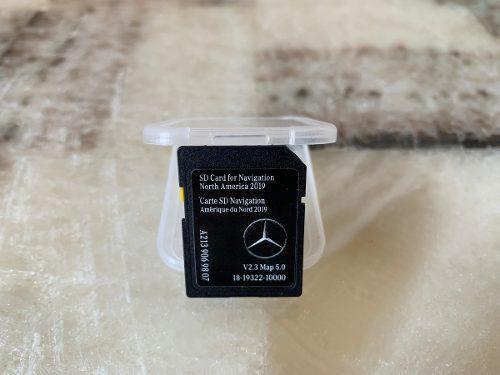 Nueva Tarjeta Sd Gps Para Mercedes Benz A2139069807