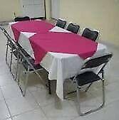 Renta de Sillas y Mesas en Escobedo
