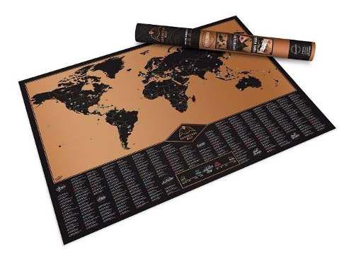 Scratch Map Adventure Mapa De Rascar Mapa Mundial Mapa