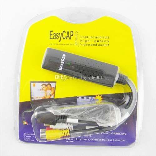 Tarjeta Capturadora Easycap Tarjeta Capturadora Usb 2.0 Rca