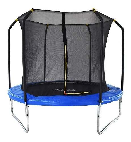Trampolin 8 Tombling 2.43m Con Red De Athletic Brincolin