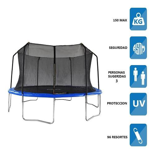 Trampolin Brincolin Jumbo Athletic Works 15 Pies