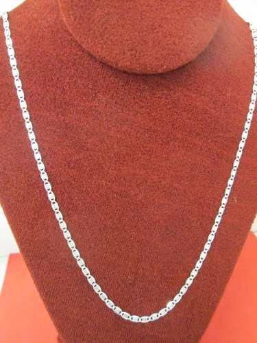 Cadena Gucci Diamantada Plata Fina.925 3 Mm Y 50 Cm