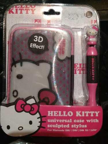 Case Para Nintendo Dsi De Hello Kitty Nuevo