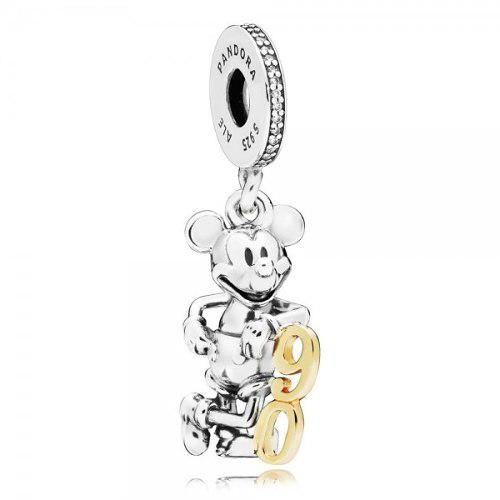 Charm Pandora Mickey 90 Aniversario, 100% Plata S925 Ale