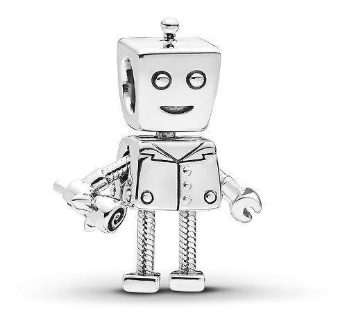 Charm Pandora Original Rob Bot Novio De Bella Bot Plata S925