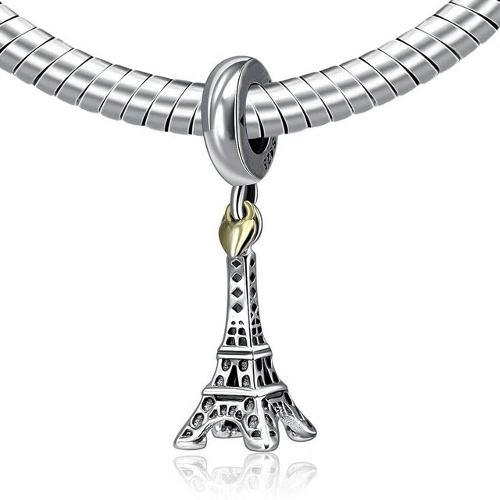 Charm Pandora Original Torre Eiffel Paris Plata S925 Ale