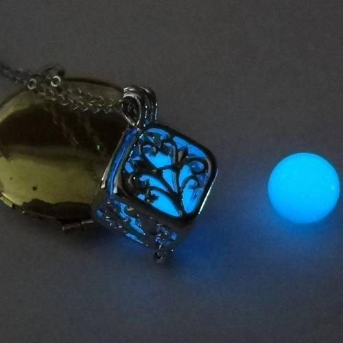 Collar Arbol De La Vida Brilla En Oscuridad!