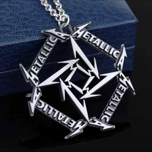Collar De Los Fans De Grupo Metallica Envio Gratis