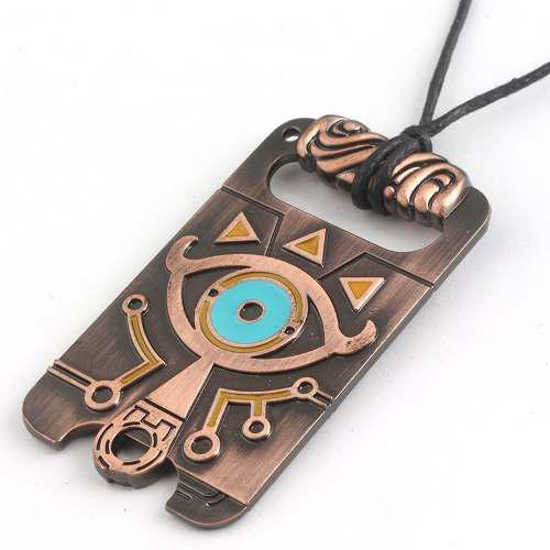 Collar Legend Of Zelda Sheikah Breath Of Wild Acero Inox