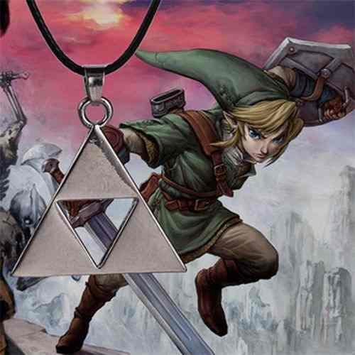 Collar Trifuerza De Leyenda De Zelda Colores Varios