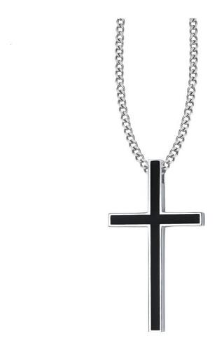 Crucifijo Cruz Jesucristo Acero Inoxidable Collar Unisex