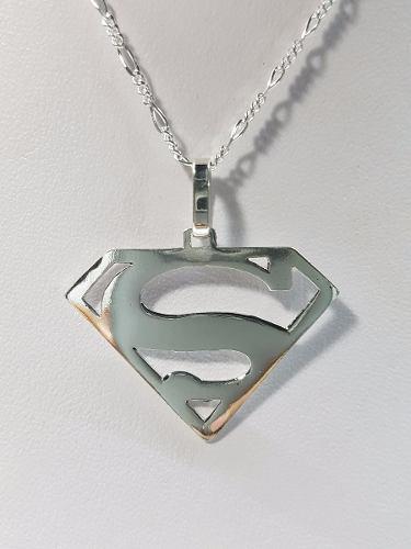 Dije De Superman Plata Ley.925 Joyeria