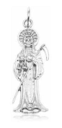 Dije Santa Muerte Plata 925