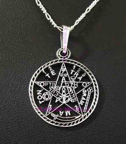 Dije Tetragramaton Plata Solida 925