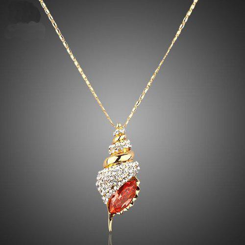Gargantilla Krasha Elegante De Oro Laminado En 18k Cristales