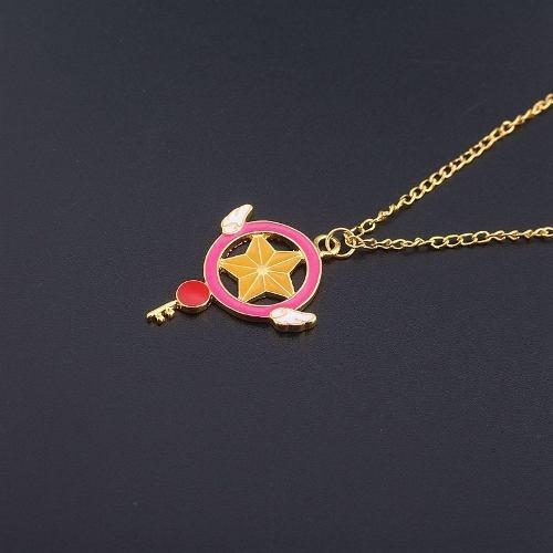 Genial Collar Sakura Card Captor Envio Gratis