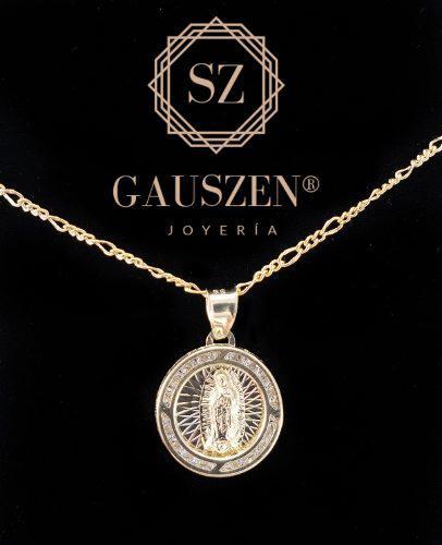 Hermosa Medalla Virgen De Guadalupe Oro 10k Comunión Boda