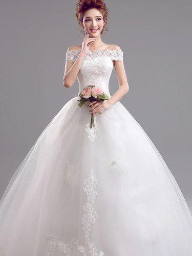Hermoso Vestido Novia Ajustable Con Envio Gratis W-5956