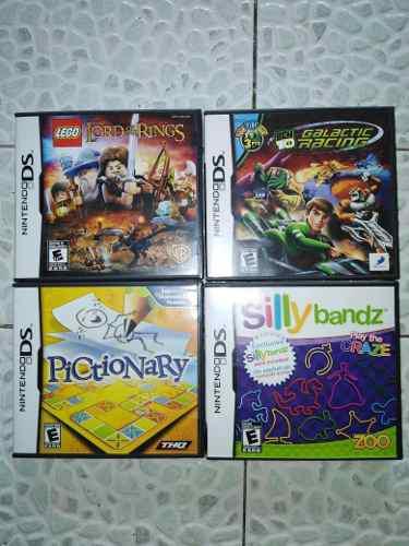 Juegos Para Nintendo Ds Nuevos (4 Piezas)