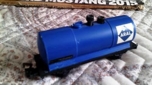 Lote De 3 Vagones Para Tren Escala 1/87 Ho Art 01