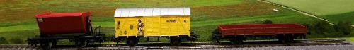 Lote De 3 Vagones Para Tren Kv Escala Ho Marklin