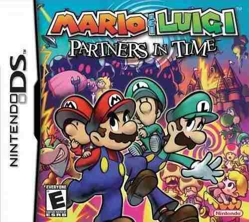 Mario Luigi Socios En El Tiempo