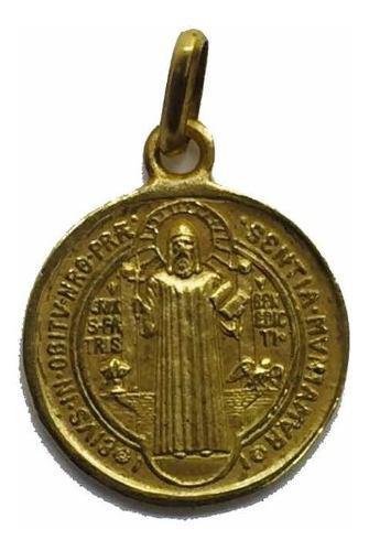 Medalla Oro 14k De San Benito # 362
