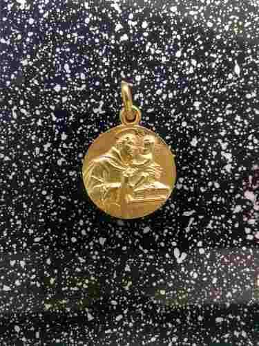Medalla Oro 14k San Antonio #1114