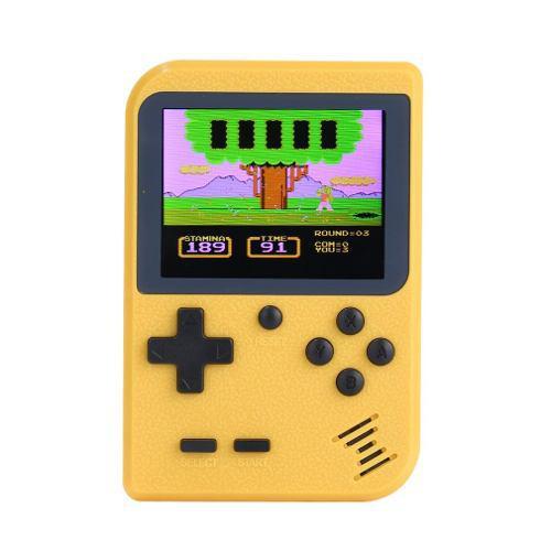 Mini Bolsillo Handheld Juego Player Construido En 300 Juegos