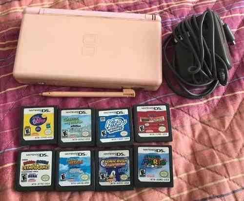 Nintendo Ds Con 8 Juegos