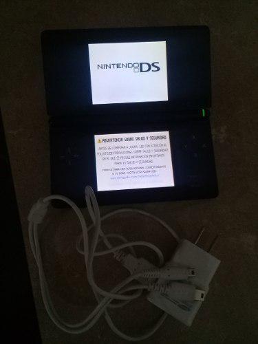 Nintendo Ds Lite Con Cargador Y Juego De Pokemon