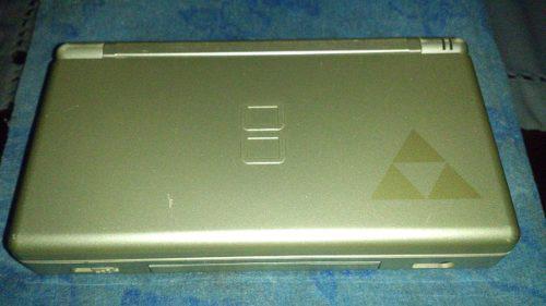 Nintendo Ds Lite Ediciòn Zelda Con Juego Y Mochila.
